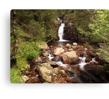 Smithy Beck Waterfall Canvas Print