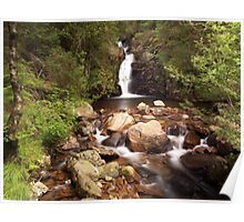 Smithy Beck Waterfall Poster