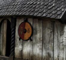 Viking House Sticker