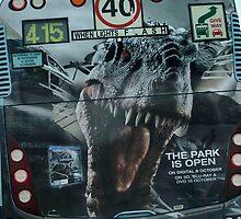 Jurassic  bus by Glen O'Malley