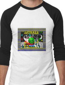 Wizball Men's Baseball ¾ T-Shirt