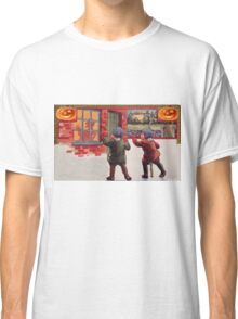 Young Killers  (Vintage Halloween Card) Classic T-Shirt