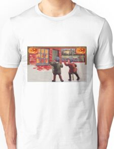 Young Killers  (Vintage Halloween Card) Unisex T-Shirt