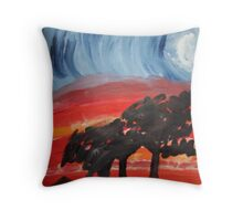 Mystical twilight Throw Pillow