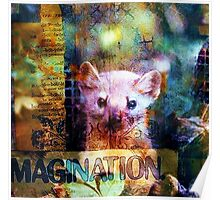 Imagination - The Heart of Creativity Poster