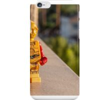 Gold Robot iPhone Case/Skin
