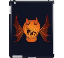 Skull Horns and Wings ( FIRE version ) iPad Case/Skin