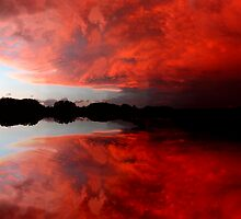 Tornadic Super Cell by Tim Scullion