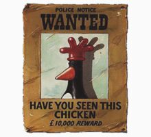 Have you seen this chicken??? by ludlowghostwalk