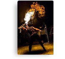 Fire Breath Canvas Print