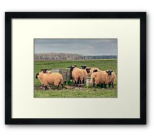 Dinner in the Cotswolds Framed Print