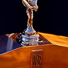 "1986 Rolls-Royce ""Spirit of Ecstasy"" Hood Ornament by Jill Reger"