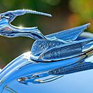"1933 Chrysler Imperial ""Gazelle"" Hood Ornament 2 by Jill Reger"