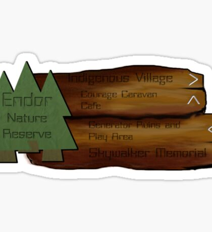 Endor Nature Reserve - a great day out! Sticker
