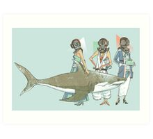 In Oceanic Fashion Art Print