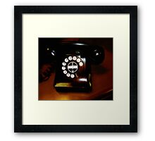 Ringing in the Fifties  Framed Print