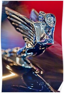 "A 1938 Cadillac V-16 Sedan ""Goddess"" Hood Ornament  2 by Jill Reger"