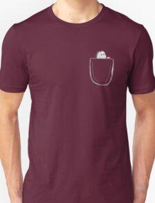 peek-a-boo pocket T-Shirt