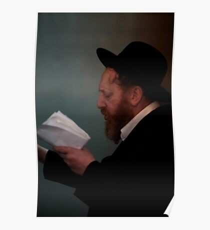 Praying in the Ohel of Rabbi Elimelech. Mazel tow . Harcikn Dank ! A dank ojch zejer!   From my Midrasz  by Doktor Faustus. Favorites: 3 Views: 381 Poster