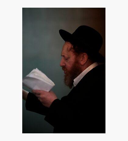 Praying in the Ohel of Rabbi Elimelech. Mazel tow . Harcikn Dank ! A dank ojch zejer!   From my Midrasz  by Doktor Faustus. Favorites: 3 Views: 381 Photographic Print