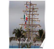 Drill Ship - Buque Escuela Poster