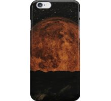 Red Moon 2 iPhone Case/Skin