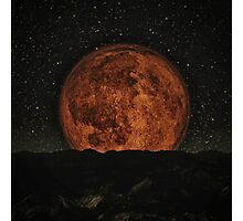 Red Moon 2 Photographic Print