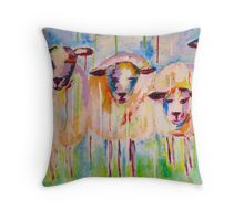 Brunch Girls Throw Pillow