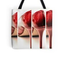 Red Hot Repeating Tote Bag