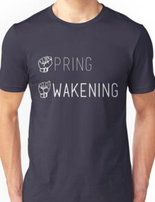 Spring Awakening Deaf West American Sign Language Unisex T-Shirt