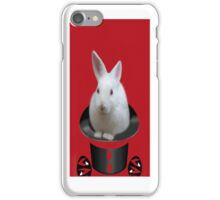 *•.¸♥♥¸.•*BUNNY IN THE HAT  IPHONE CASE *•.¸♥♥¸.•* iPhone Case/Skin