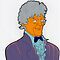 Doctor Who - Jon Pertwee - Simpson-esque  by Donnahuntriss