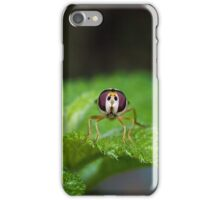 Cute Green Bug-Eyed Insect iPhone Case/Skin
