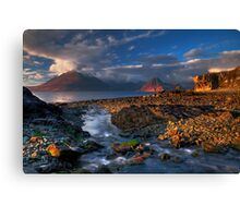 Elgol Burn and the Cuillin. Isle of Skye. Scotland. Canvas Print