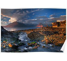 Elgol Burn and the Cuillin. Isle of Skye. Scotland. Poster