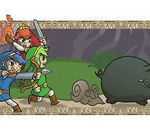 Triforce Heroes Legend of Zelda by LuisIPT