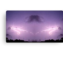 Lightning Art 43 Canvas Print