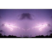 Lightning Art 43 Photographic Print