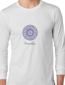 breathe water drop Long Sleeve T-Shirt