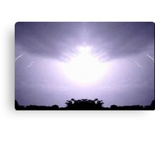 Lightning Art 45 Canvas Print