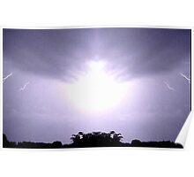 Lightning Art 45 Poster