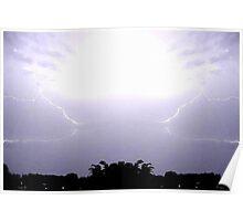 Lightning Art 48 Poster