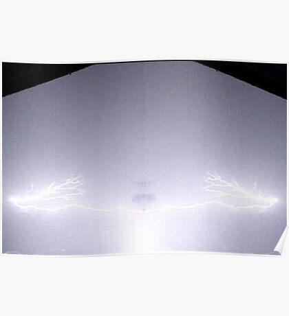 Lightning Art 51 Poster
