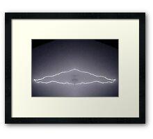 Lightning Art 52 Framed Print
