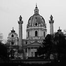 The Karlskirche, Vienna. by bekkalily
