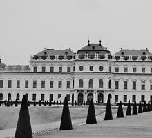 The Belvedere palace. by bekkalily