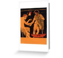 Ancient Greek Medicine Greeting Card