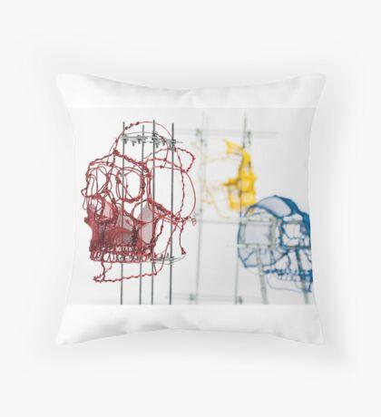 Craneos pop Throw Pillow