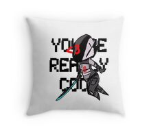 You're Really Cool, Zer0 Throw Pillow
