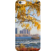 Morning walk, Parc des Rapides, Montreal iPhone Case/Skin